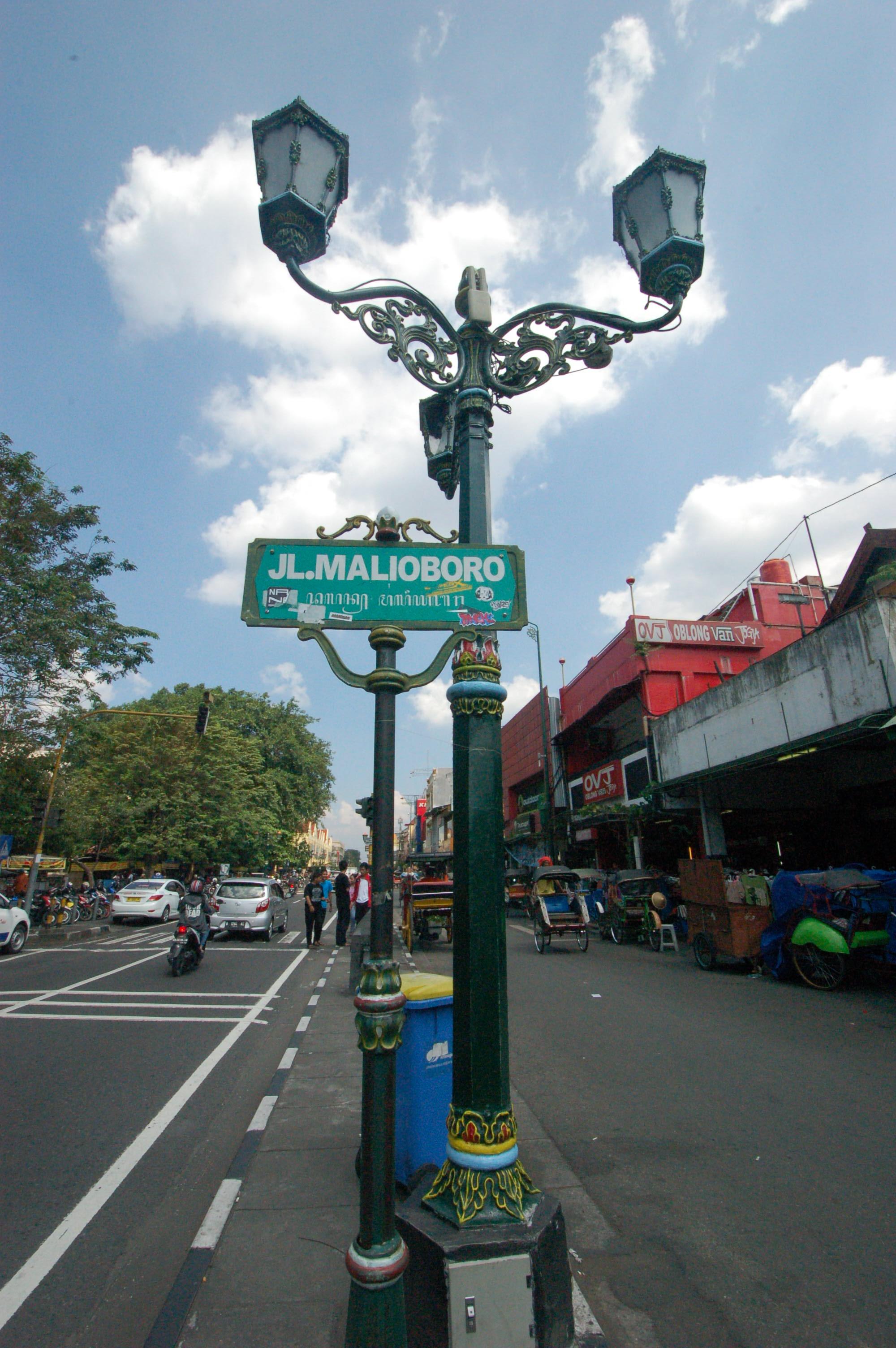 Jalan Malioboro @Jogjakarta