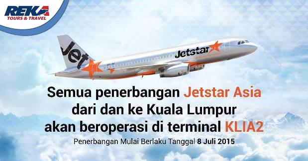 JetStar Pindah Bandara
